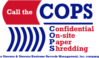 COPS Shredding of St Petersburg FL is now SSBRM